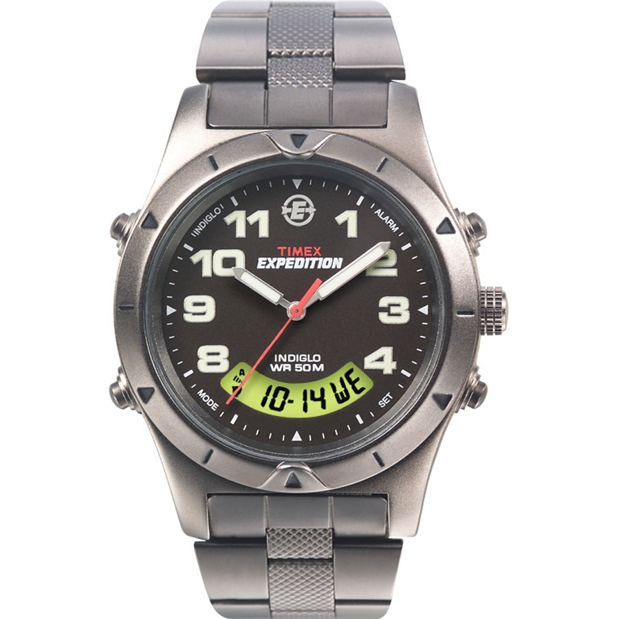 timex expedition metal analog digital backcountry
