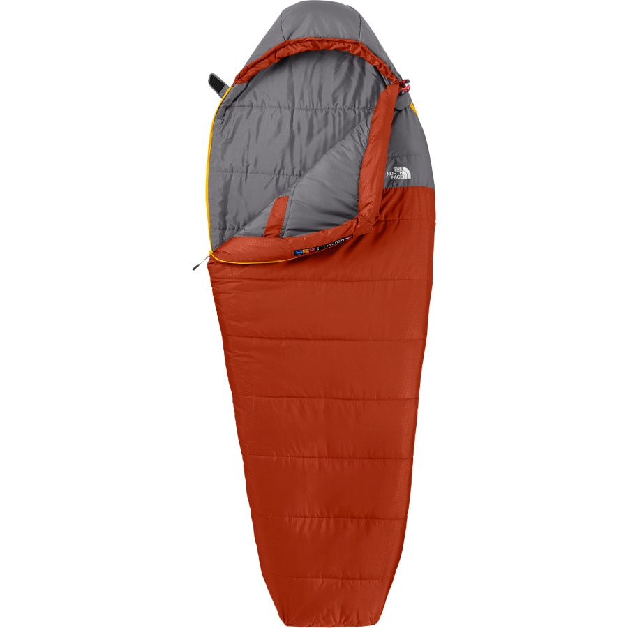 The North Face Aleutian Sleeping Bag: 50 Degree Synthetic ...