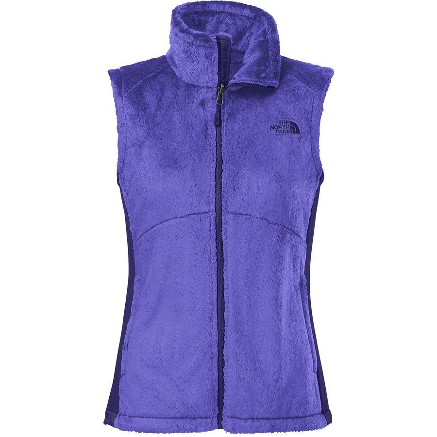 The north face osito fleece vest women 39 s for Women s fishing vest