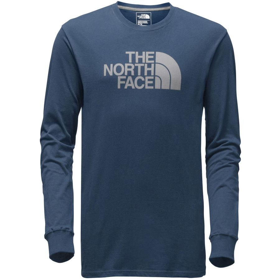 the north face half dome t shirt long sleeve men 39 s. Black Bedroom Furniture Sets. Home Design Ideas