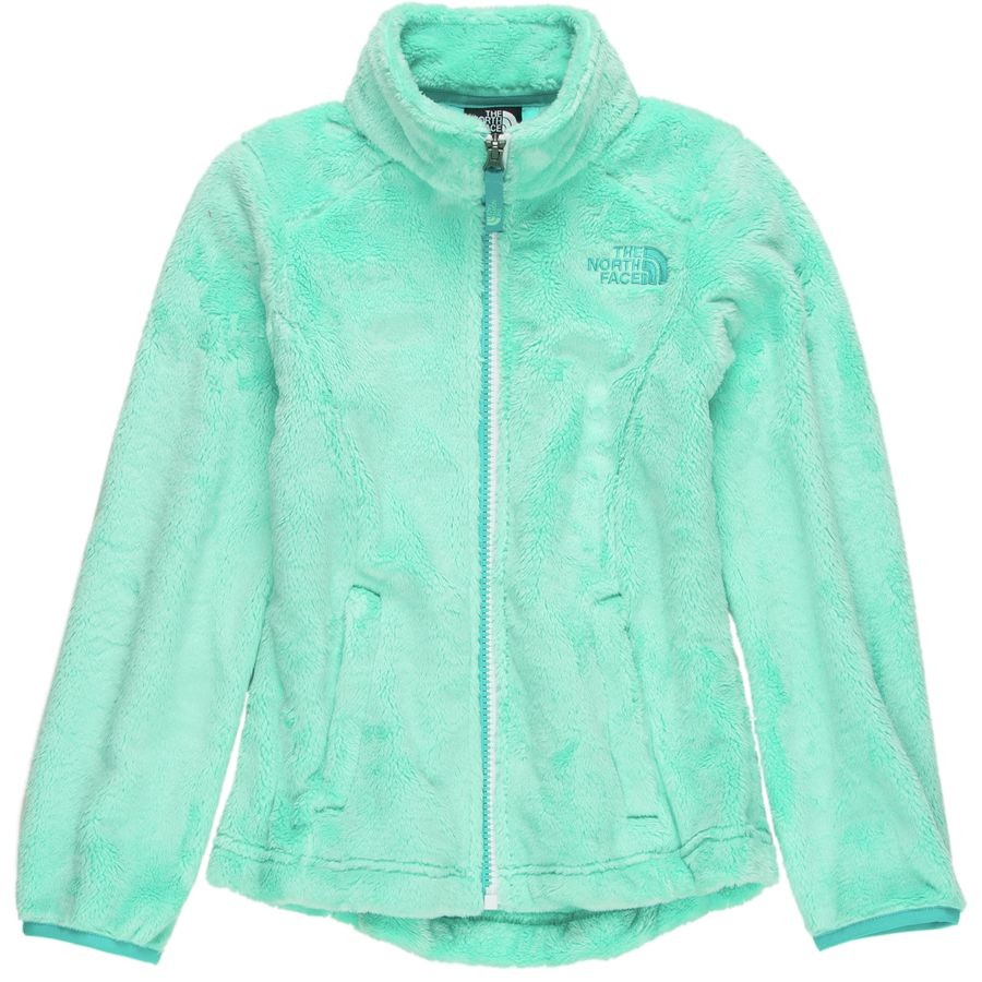The North Face Reversible Mossbud Swirl fleece jacket doubles girls' options for everyday protection. A quilted taffeta exterior with light insulation reverses to show silky, soft, high-pile fleece. Available at REI, % Satisfaction Guaranteed.