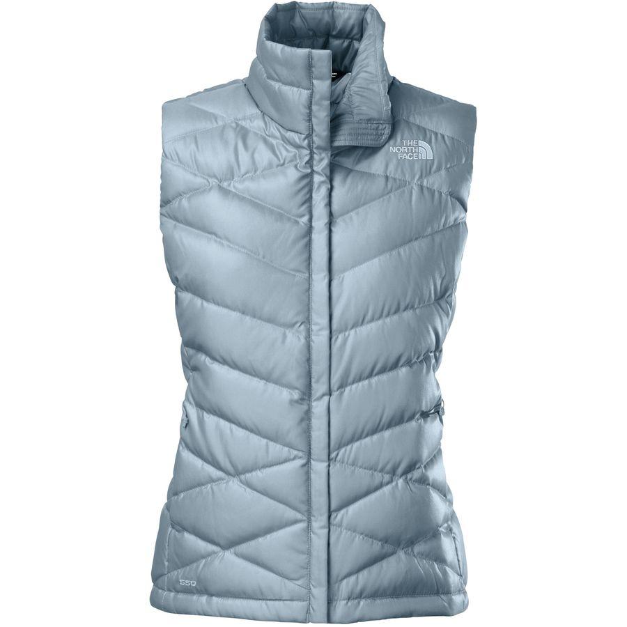 The north face aconcagua down vest women 39 s for Women s fishing vest