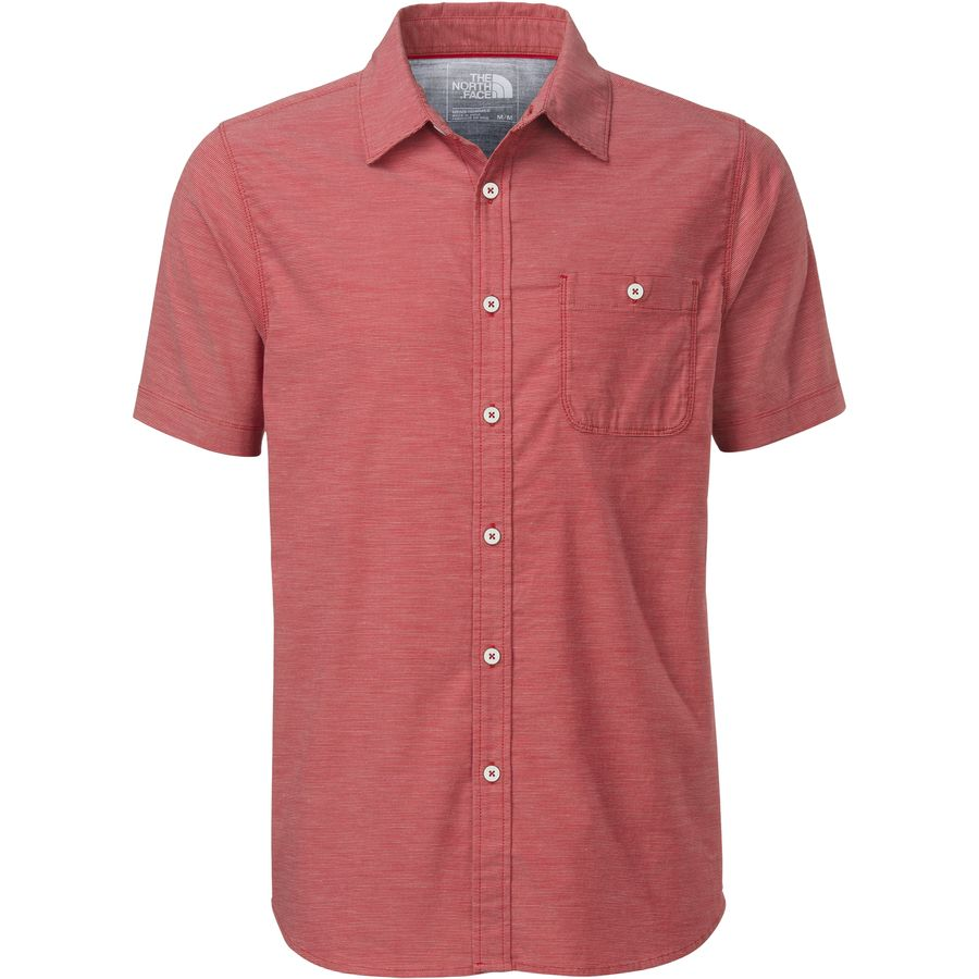 The North Face Red Point Shirt Short Sleeve Men 39 S