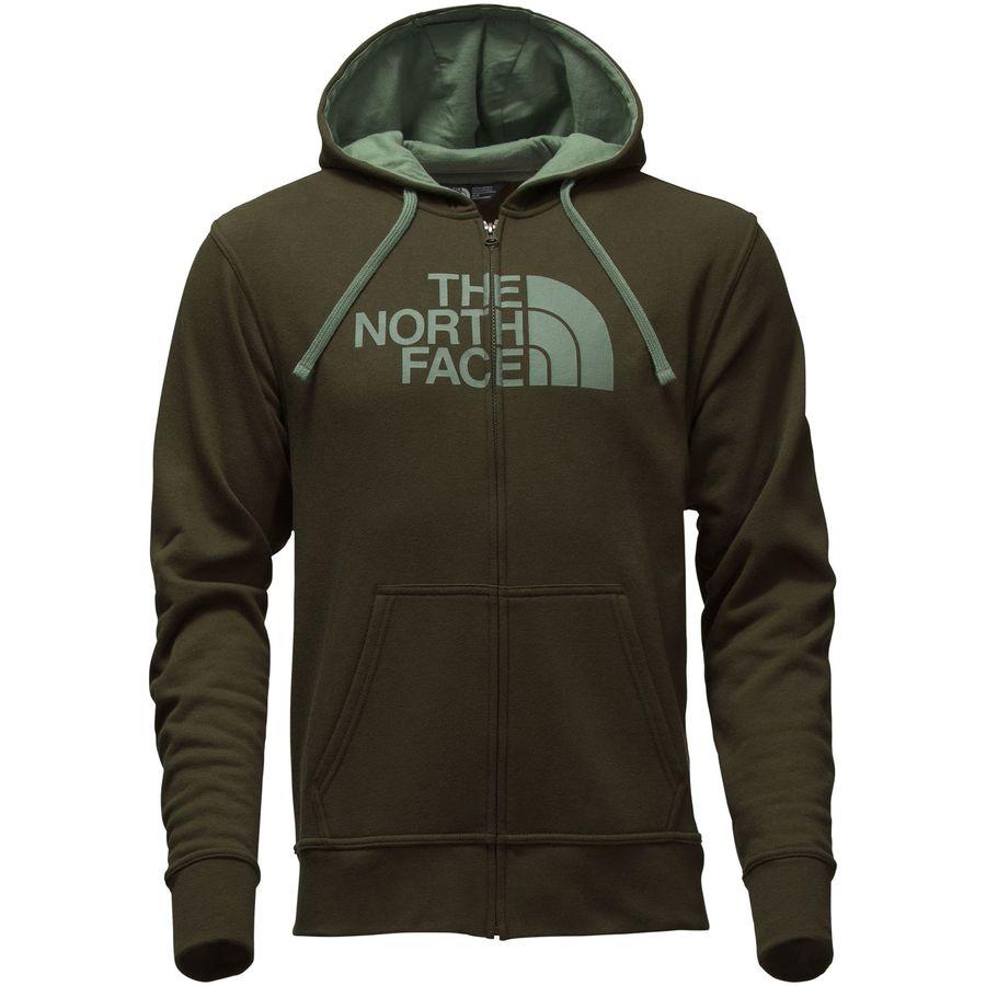 North face zipper hoodie