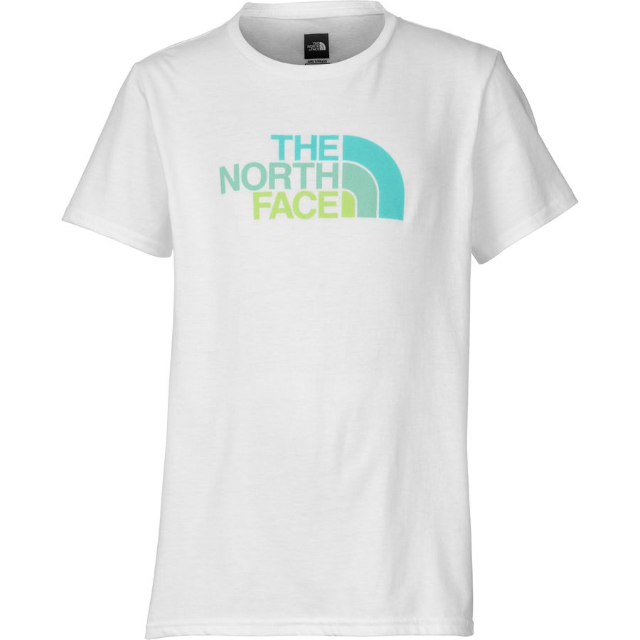 The north face graphic t shirt short sleeve girls for The north face short sleeve shirt