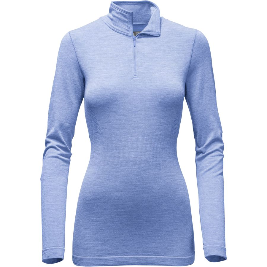 The North Face Go Seamless Wool 1/4-Zip Top - Womens
