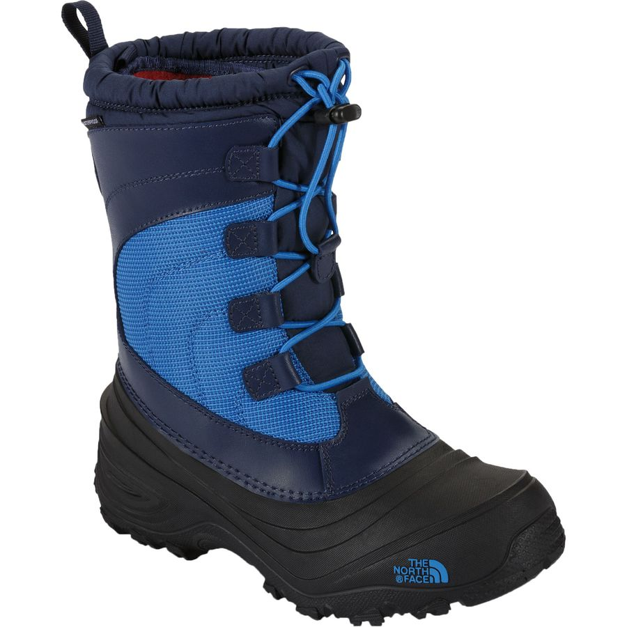 the north face alpenglow iv lace boot little boys