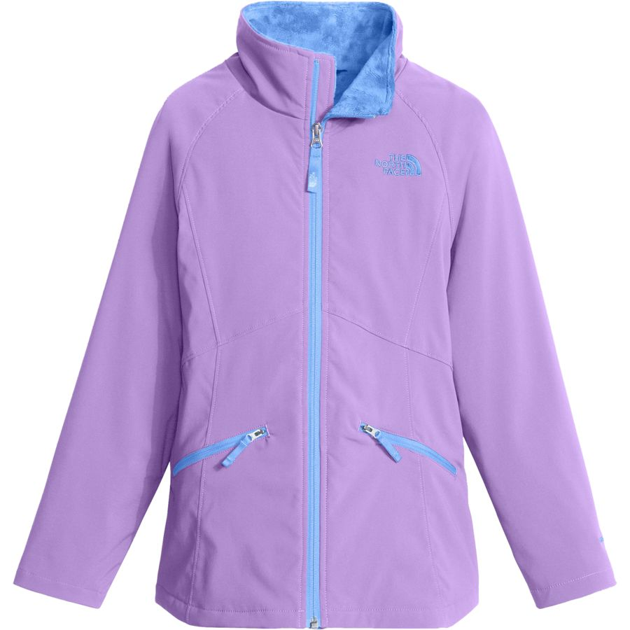 the north face mossbud soft shell jacket girls. Black Bedroom Furniture Sets. Home Design Ideas
