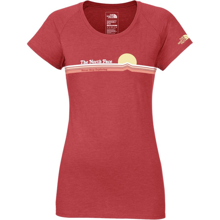 The North Face Vintage Sunset Scoop T Shirt Women 39 S