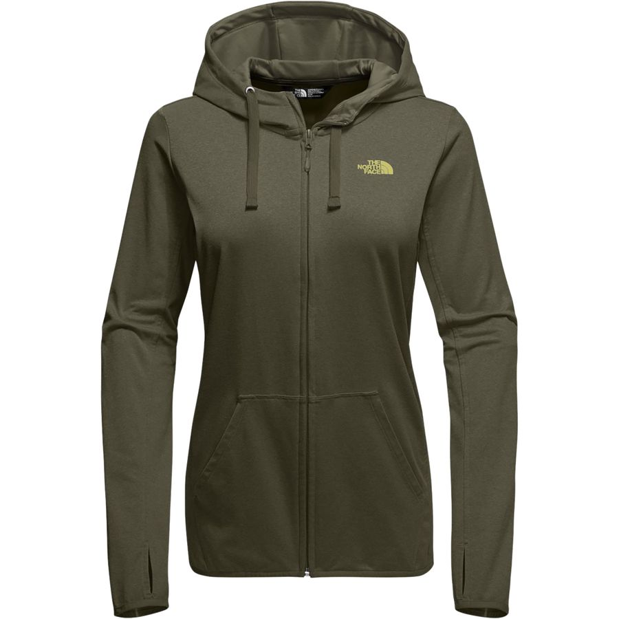 The north face zip hoodie
