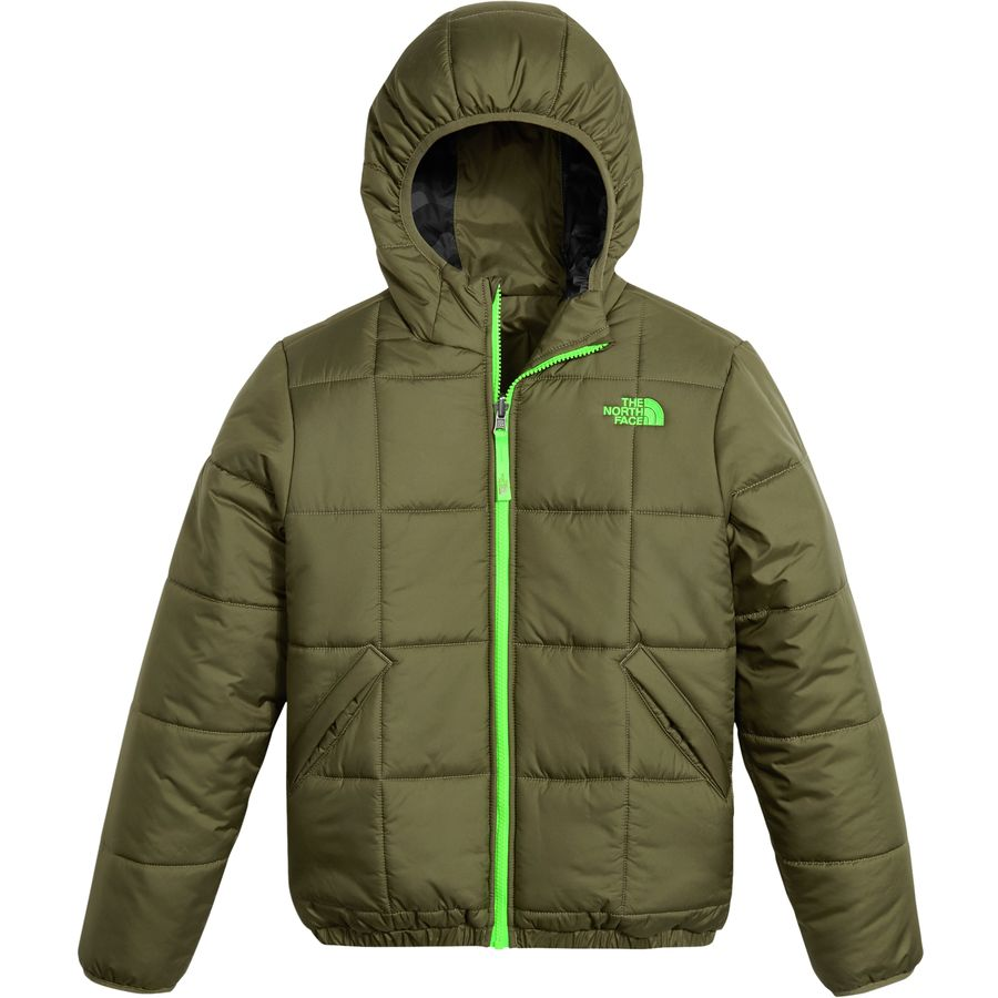 The North Face Reversible Perrito Hooded Insulated Jacket - Boysu0026#39; | Backcountry.com