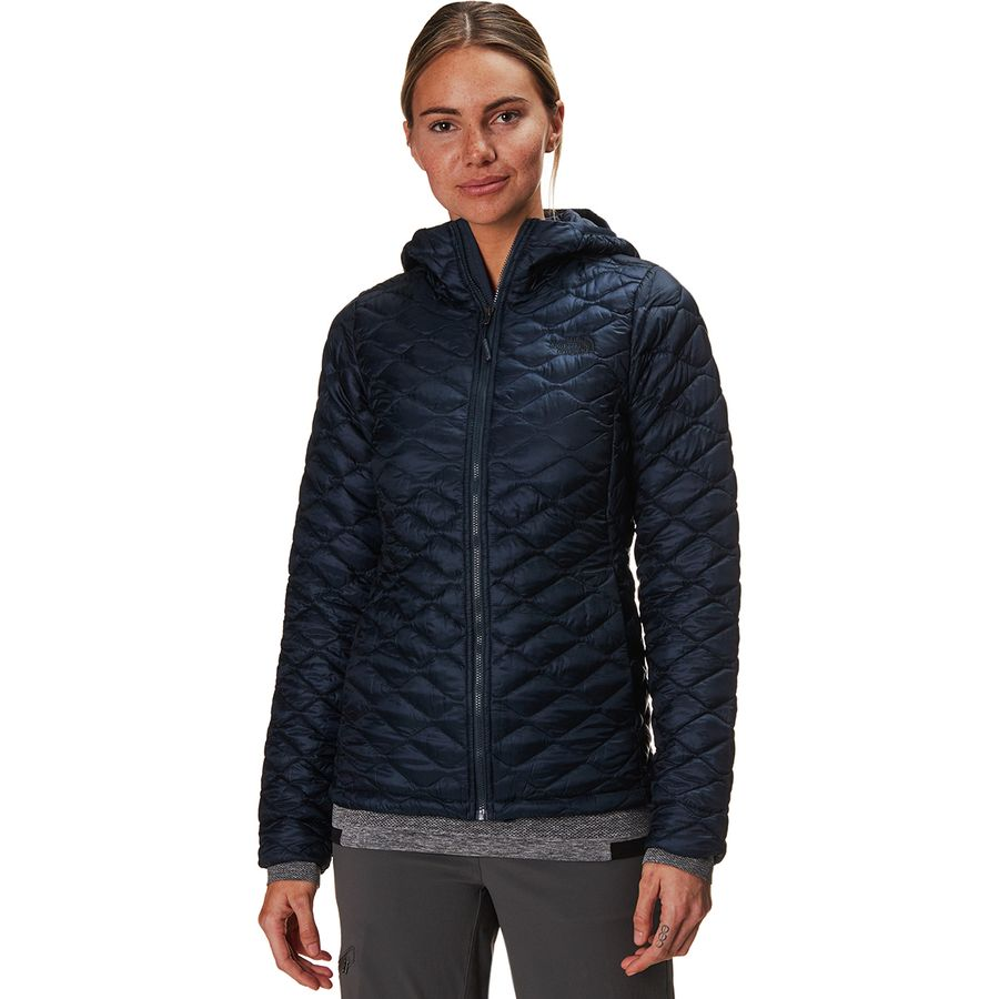 The North Face Thermoball Hooded Insulated Jacket - Women ...