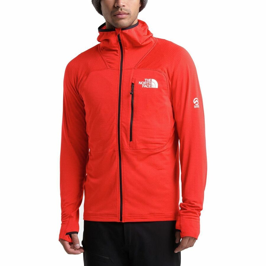 The North Face Summit L2 Power Grid LT Hooded Fleece Jacket - Mens