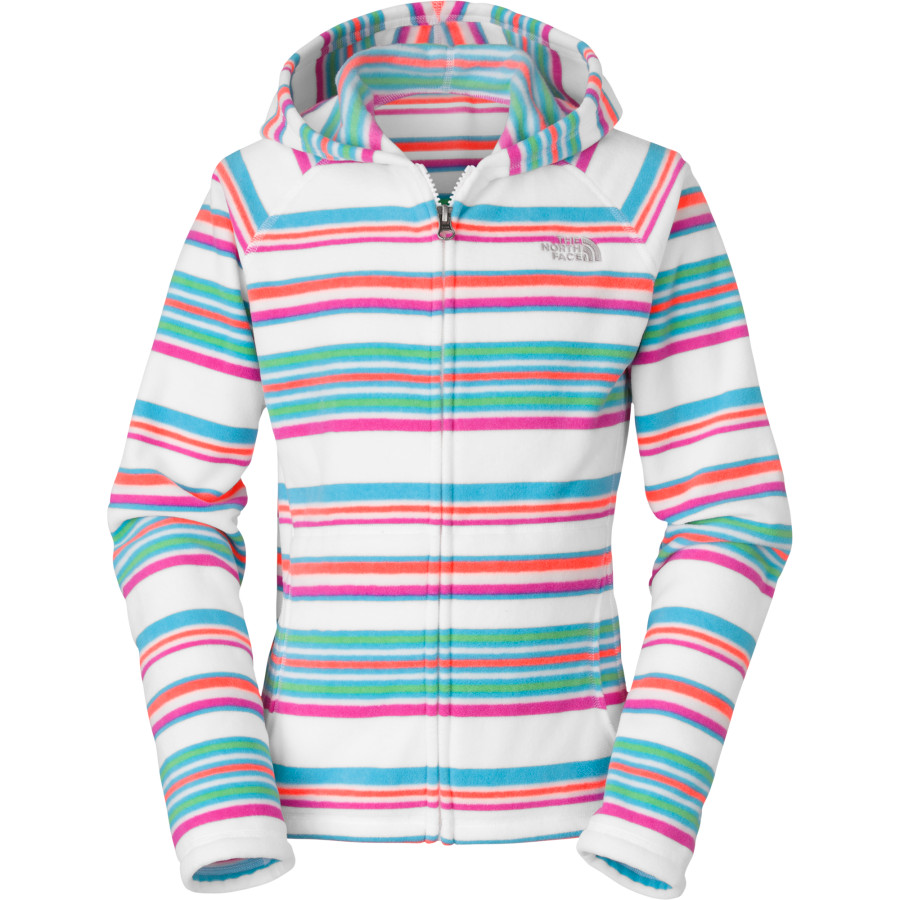 The North Face Glacier Striped Full-Zip Hoodie - Girls&#39
