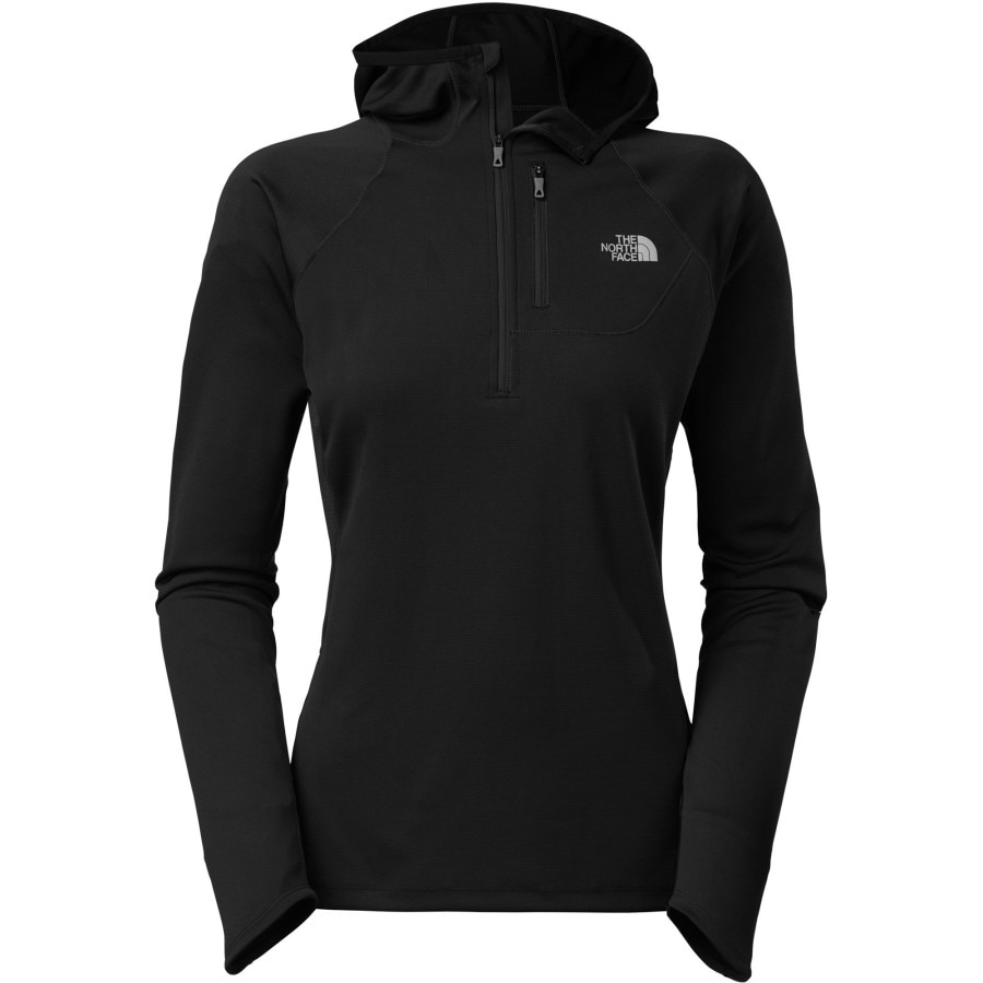The North Face Impulse Active 1 2 Zip Hooded Shirt Long