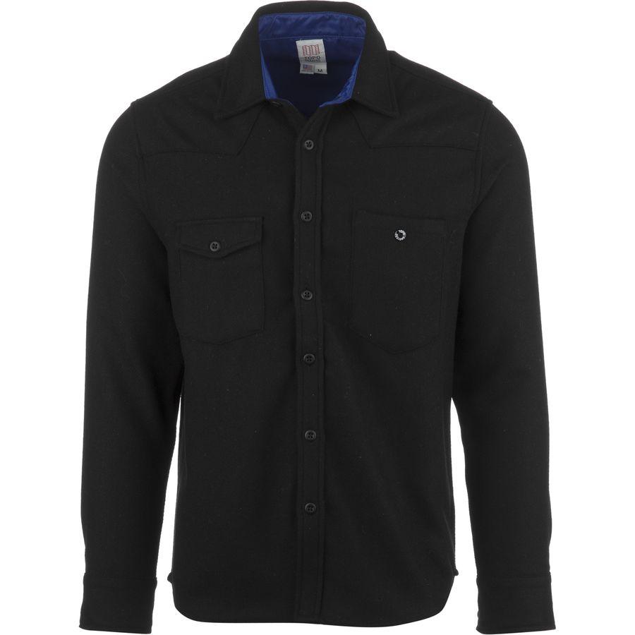 Topo designs wool work shirt men 39 s for Design a work shirt
