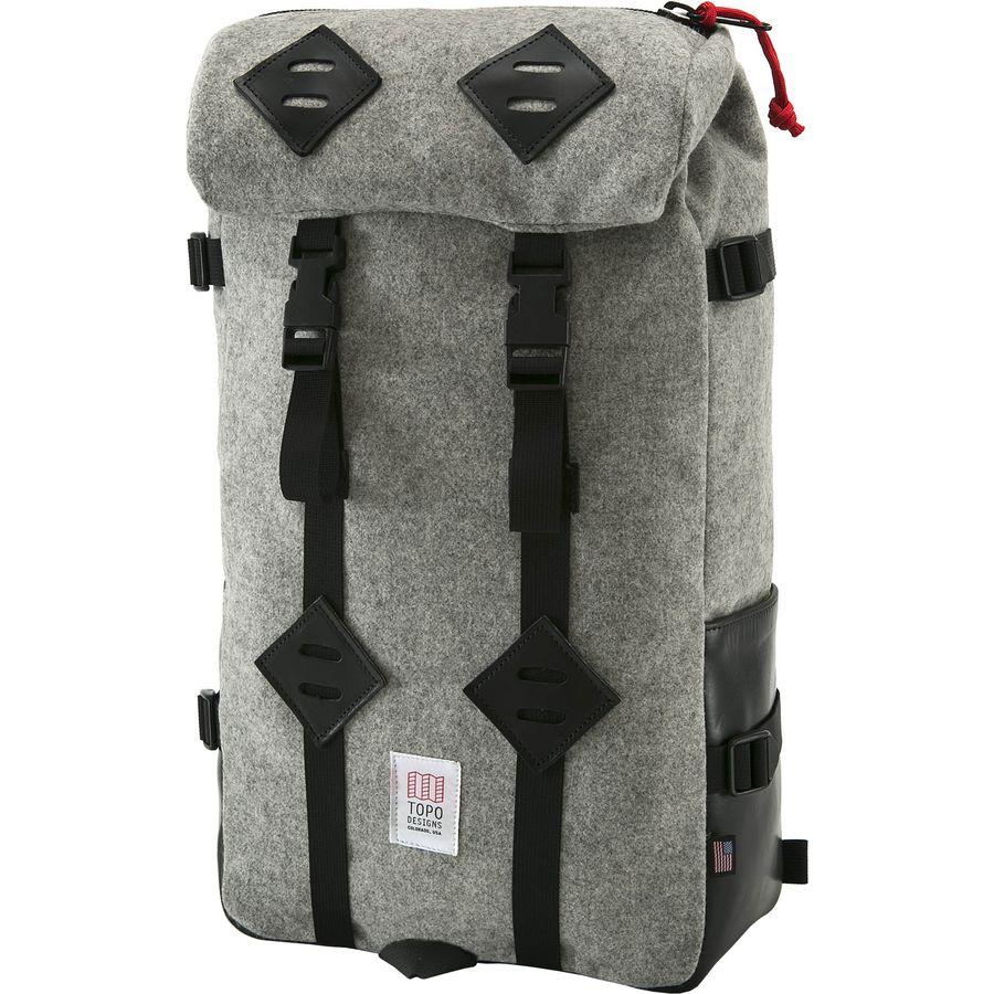 Topo Designs Klettersack Woolrich Backpack