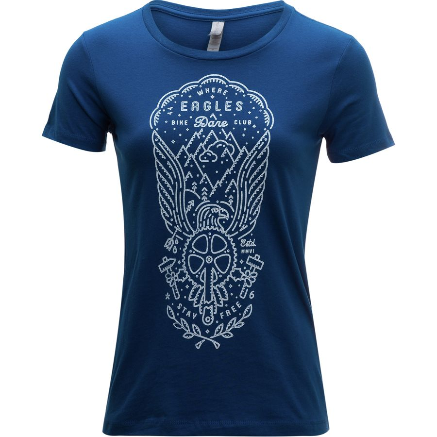 Twin six where eagles dare t shirt women 39 s for Eagles t shirt womens
