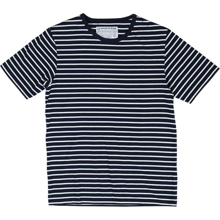 United by Blue Croydon Stripe Crew - Short-Sleeve - Men's