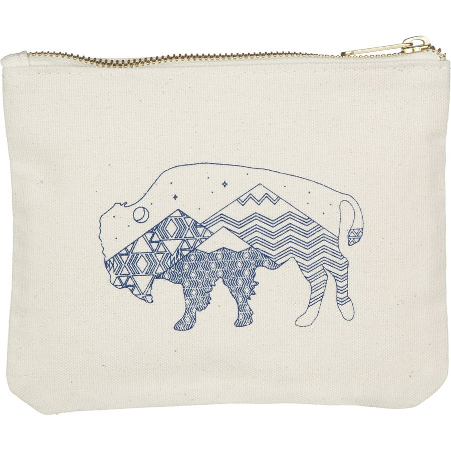 United by Blue Starry Bison Pouch