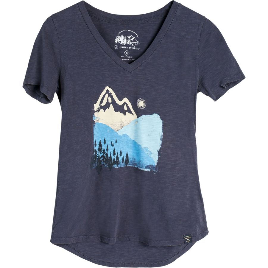 United By Blue Mountain Ink T Shirt Women S