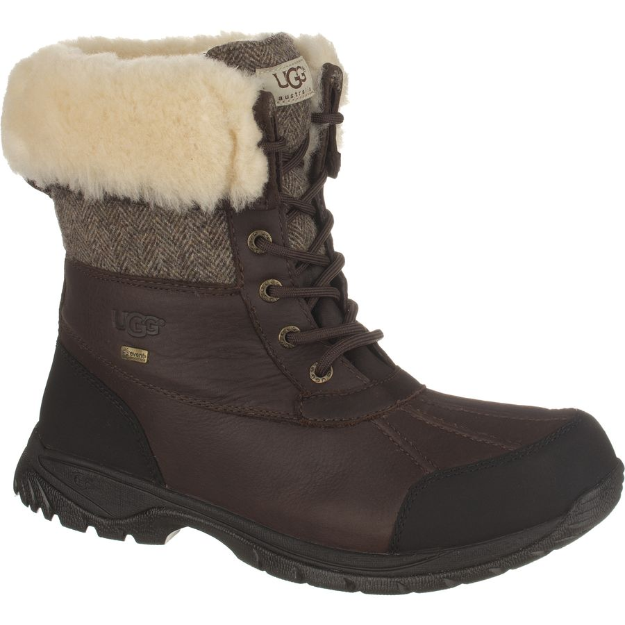 ugg australia men's butte sheepskin leather boots