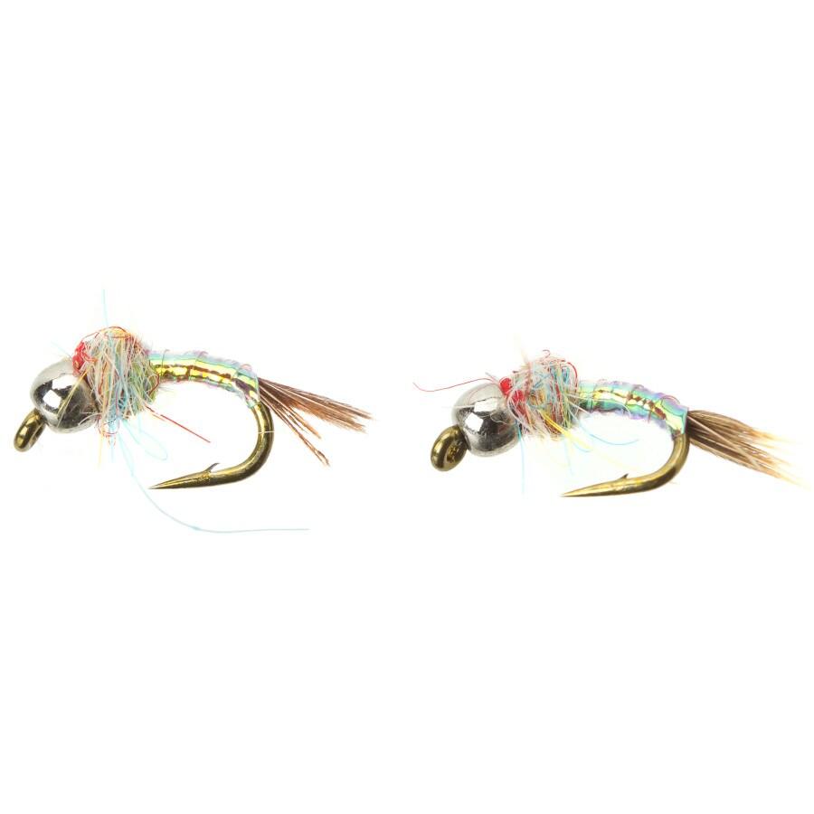Rainbow Warrior Midge: Umpqua Rainbow Warrior (Tungsten) - 2-Pack