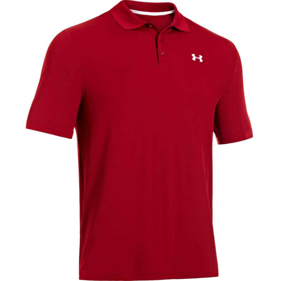 Under armour performance polo 2 0 short sleeve men 39 s for Under armour embroidered polo shirts