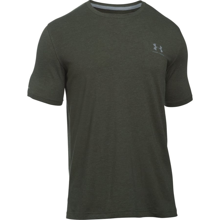 Under armour charged cotton sportstyle left chest lockup t for Under armour charged cotton shirts mens