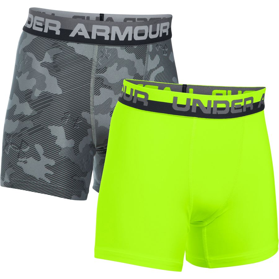Under Armour Original Series Novelty Boxer Short - 2-Pack - Boys