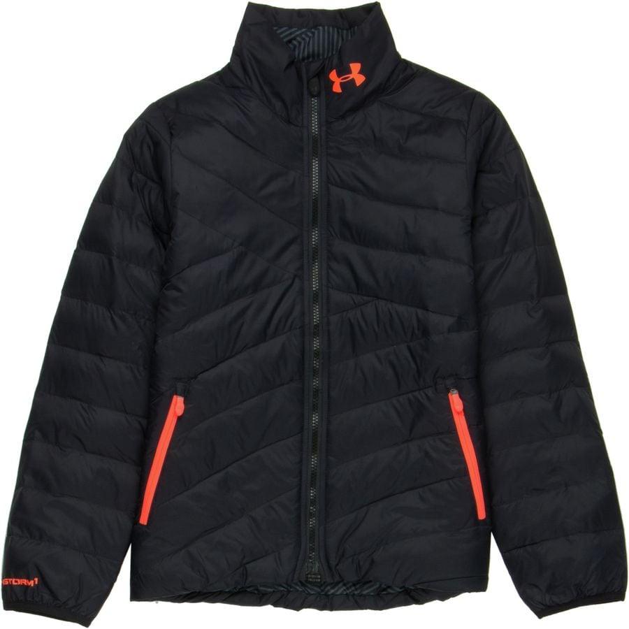 Under Armour ColdGear Infrared Aura Insulated Jacket - Girlsu0026#39; | Backcountry.com