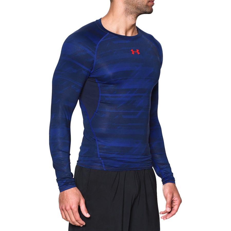 Under armour heatgear armour printed compression shirt for Printed under armour shirts