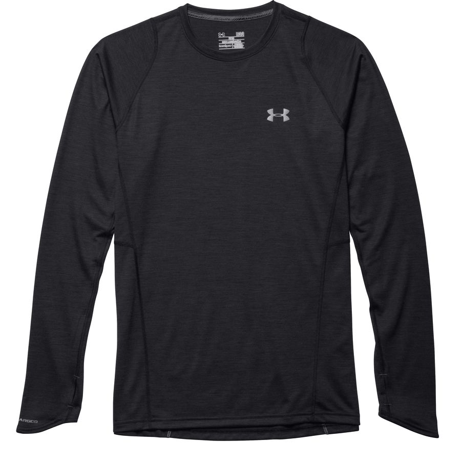 Under armour charged wool run t shirt long sleeve men 39 s for Under armour charged shirt