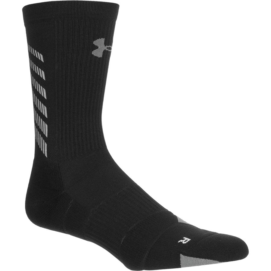 Under Armour UA Run Reflective Crew Sock