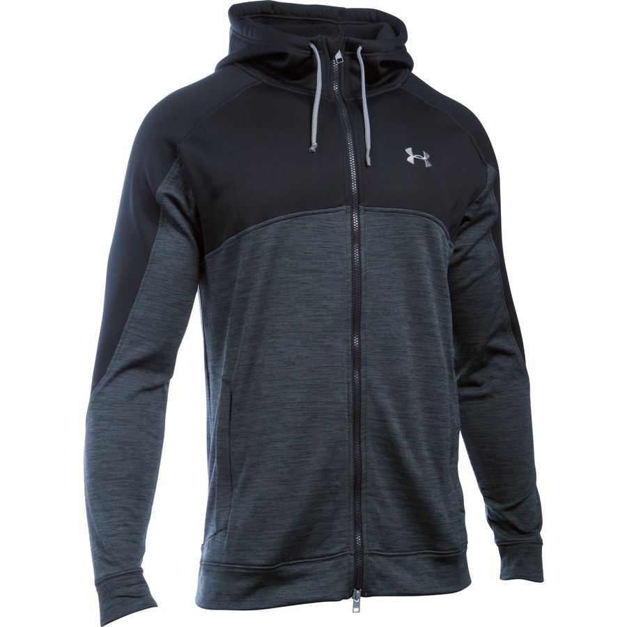 Under Armour Gamut Full-Zip Fleece Hooded Jacket - Mens