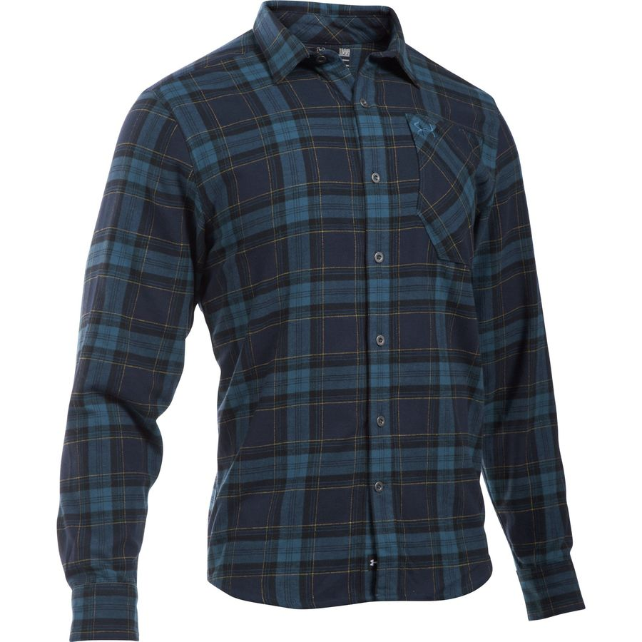 Under Armour Borderland Flannel Shirt Men S