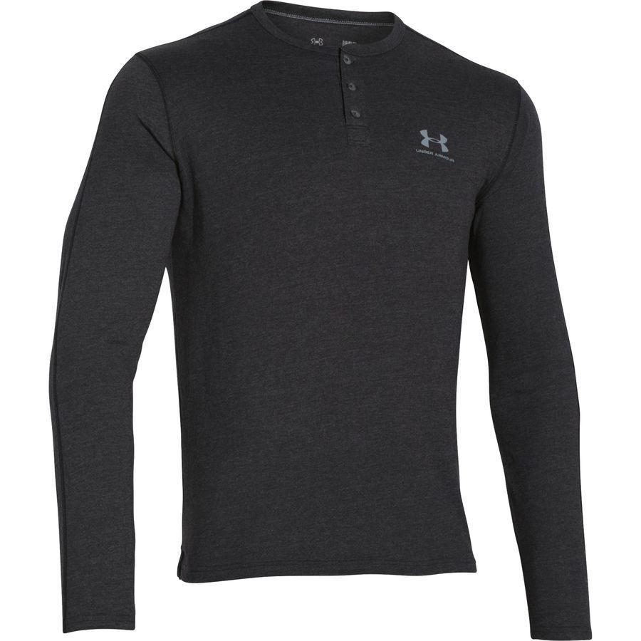Under Armour Triblend Henley Shirt - Men's