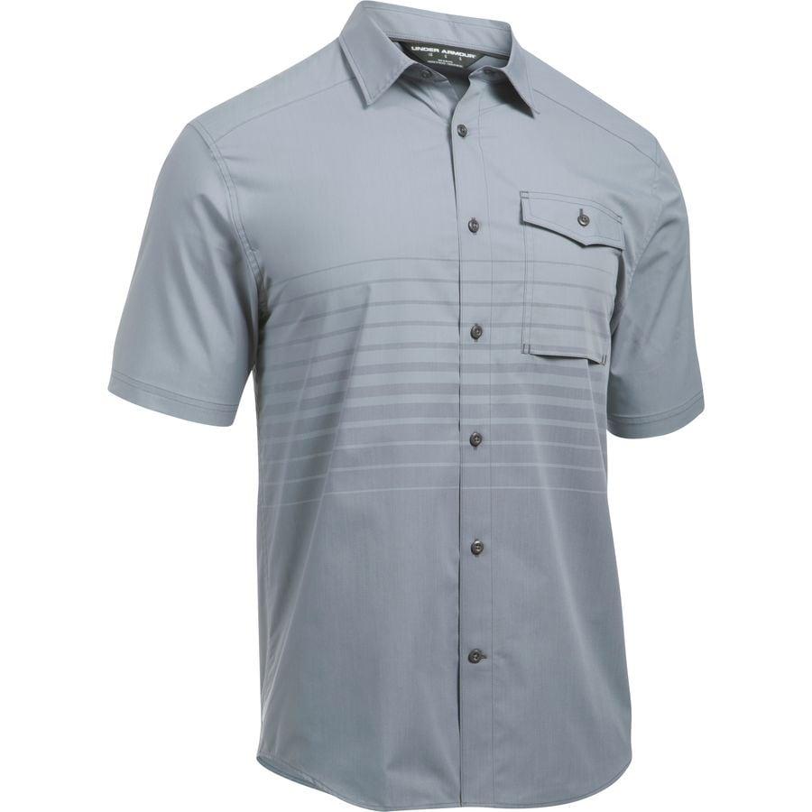 Under armour backwater short sleeve shirt men 39 s for Under armour half sleeve shirt
