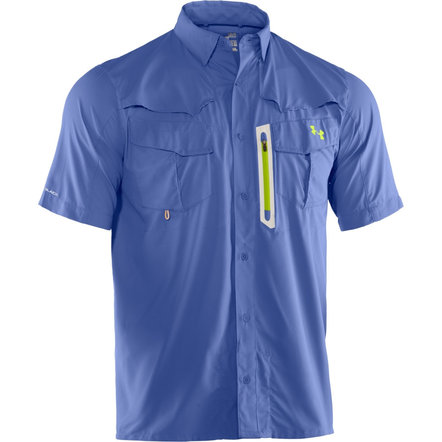 Under Armour Coldblack Abyss Guide Shirt Short Sleeve