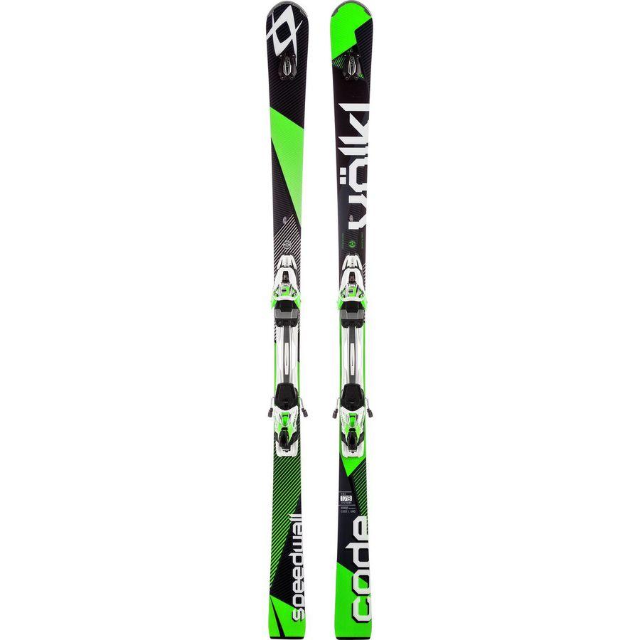 Volkl code speedwall l uvo ski with rmotion d