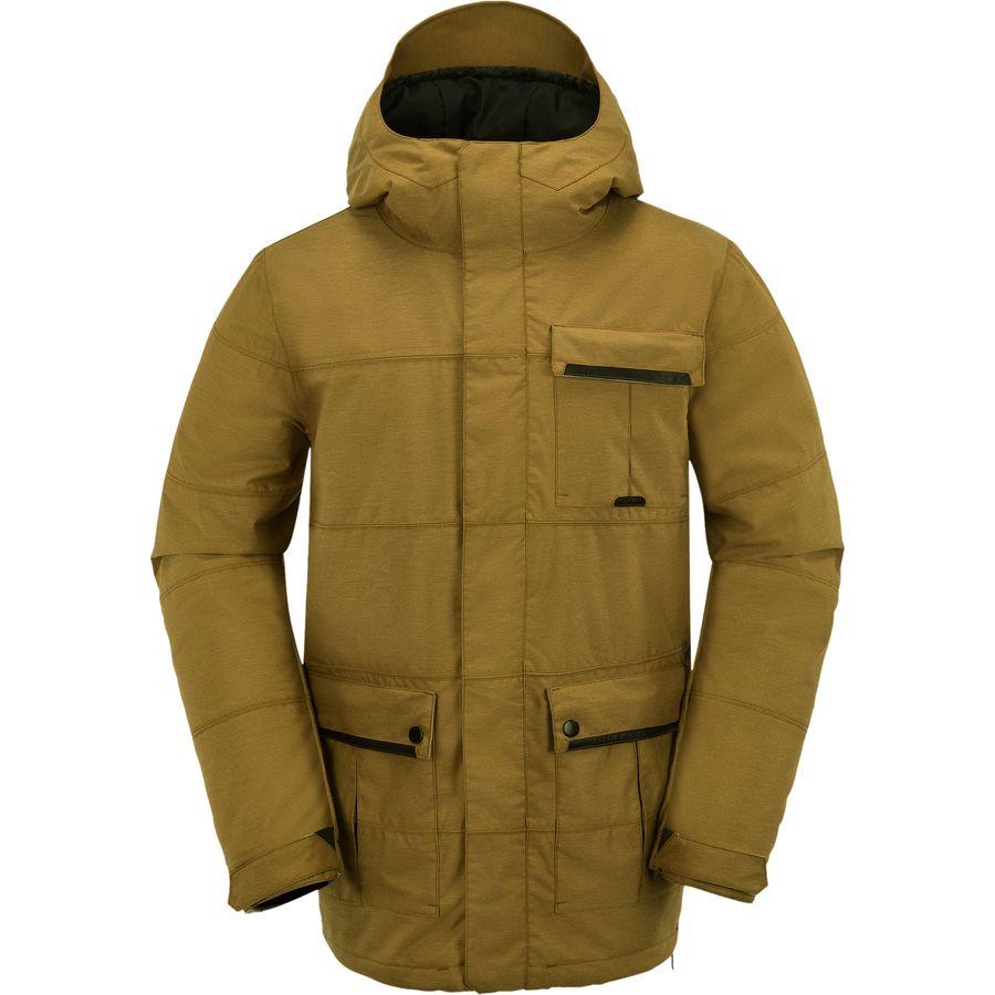 Volcom Captain Insulated Jacket Men S Backcountry Com