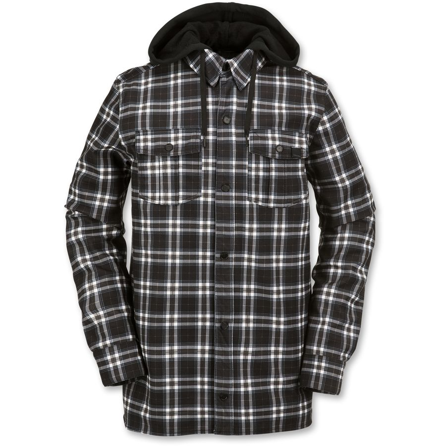 Volcom Field Bonded Flannel Shirt - Long-Sleeve - Mens