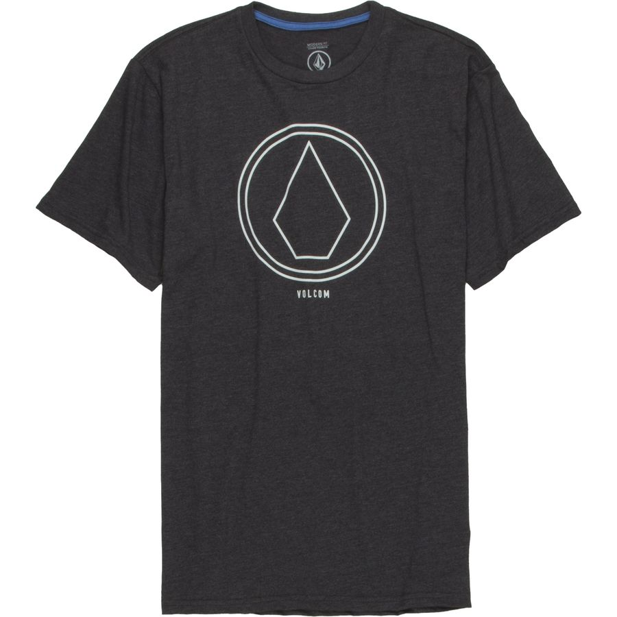 Volcom Pin Line Stone Slim T-Shirt - Short-Sleeve - Mens