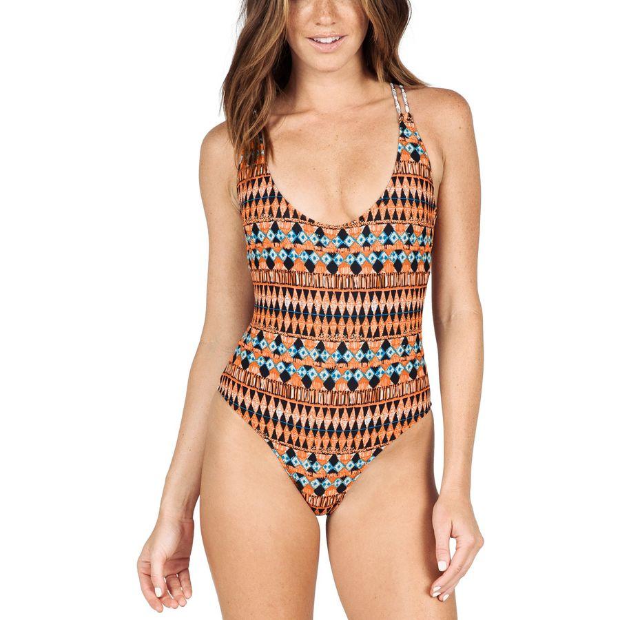 Volcom Tradewinds One-Piece Swim Suit - Womens