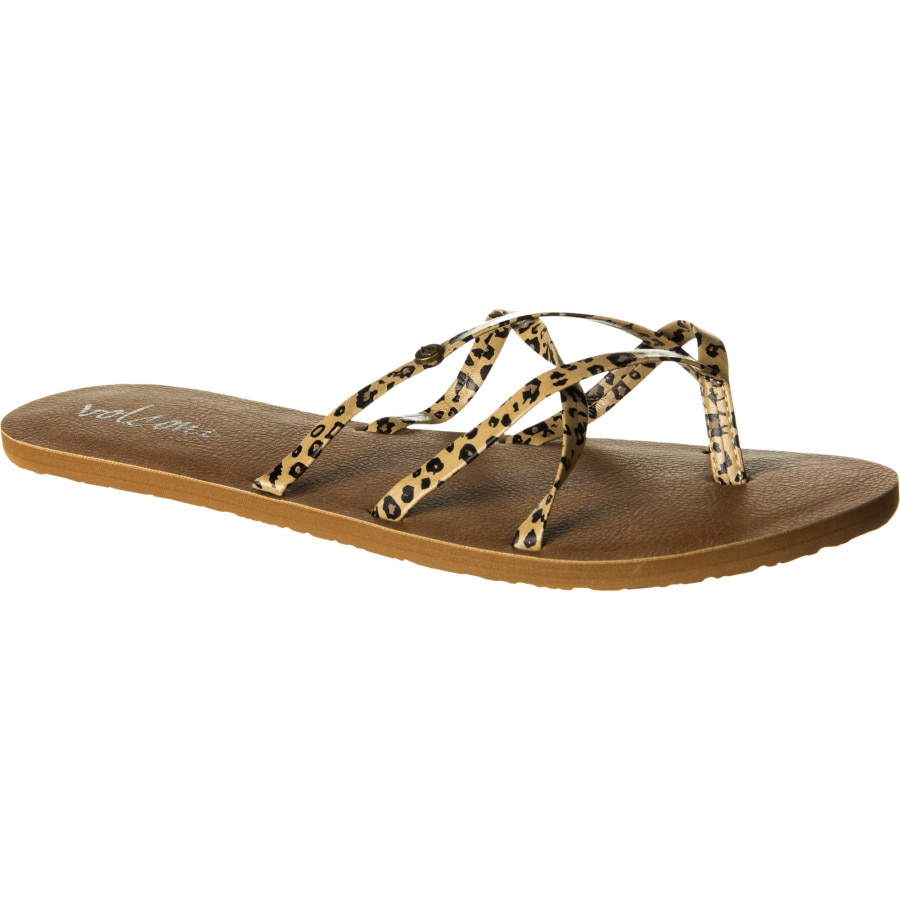 New Volcom Sandals In Black  Lyst
