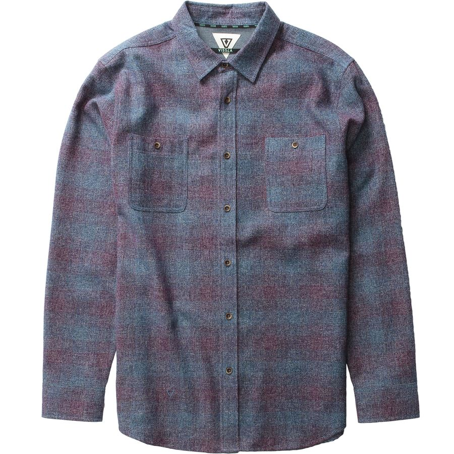 Vissla Sands Flannel Shirt - Mens