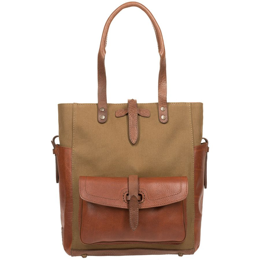 Will Leather Goods Canvas & Leather Ashland Tote Bag