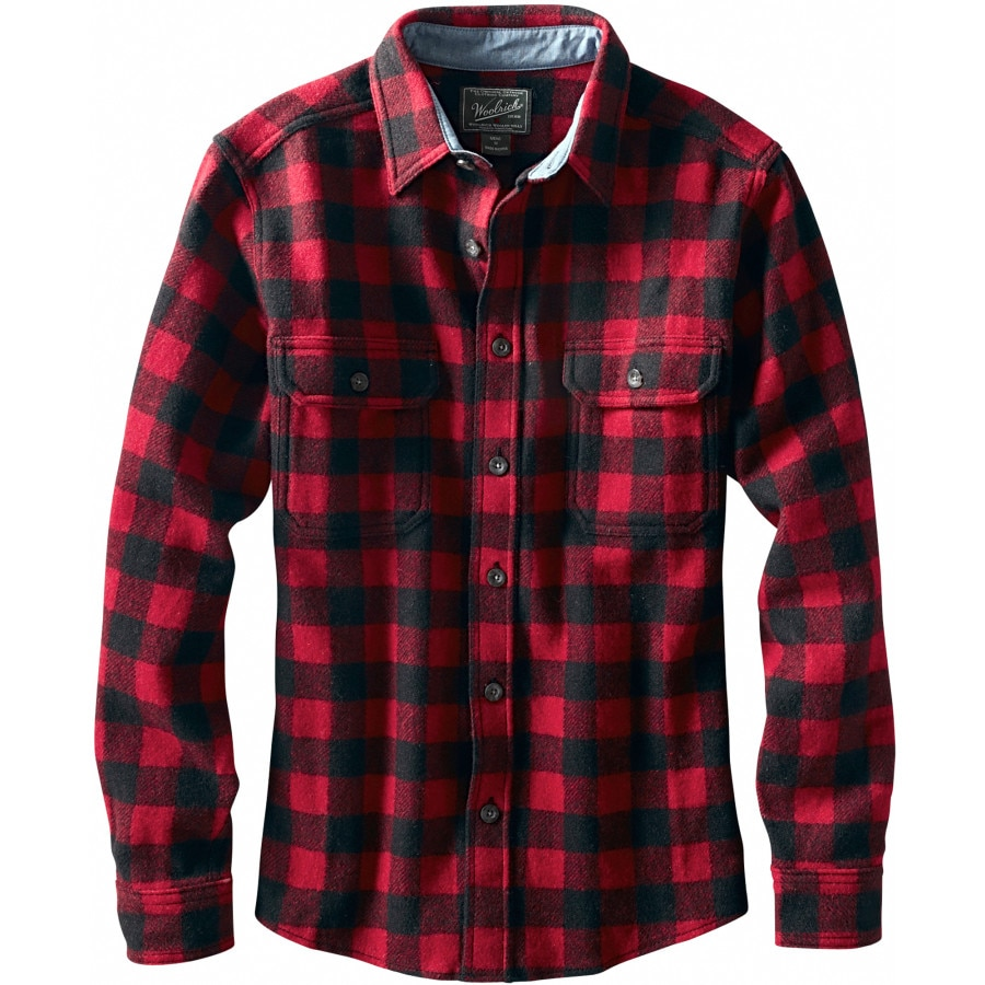 woolrich wool buffalo flannel shirt men 39 s. Black Bedroom Furniture Sets. Home Design Ideas