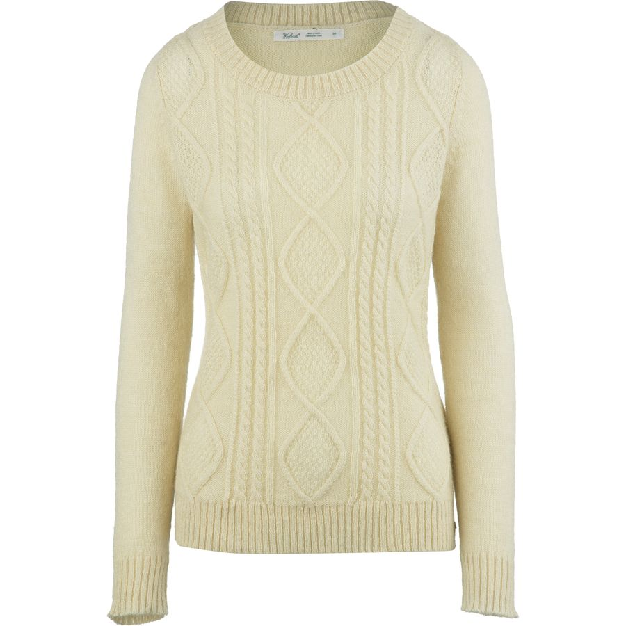 Woolrich Cable Mohair Sweater - Womens
