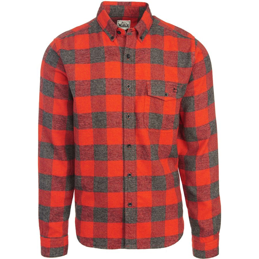Woolrich Twisted Rich Flannel Shirt - Mens